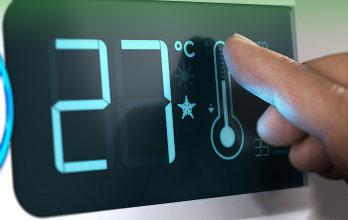 -sistema de calefaccion control digital en las condes Santiago